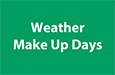 Weather Make Up Days