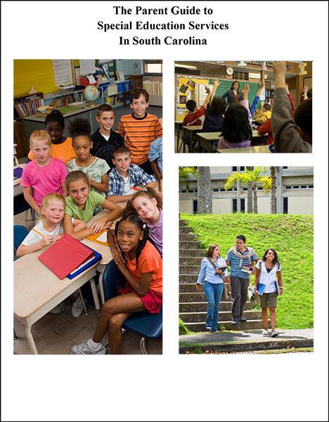Cover of The Parent Guide to Special Education Services in South Carolina