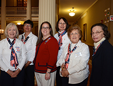 The Daughters of the American Revolution hosted the celebration.