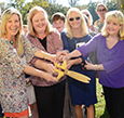 The Cedar Springs Academy's new playground officially opened with the ribbon cutting.