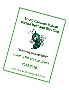 Cover of 2015-2016 Student Parent Handbook